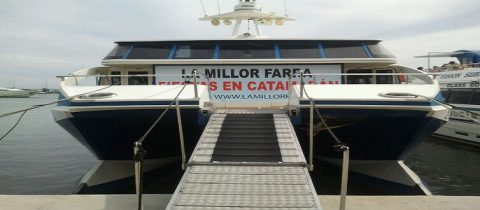 Despedidas en barco Barcelona